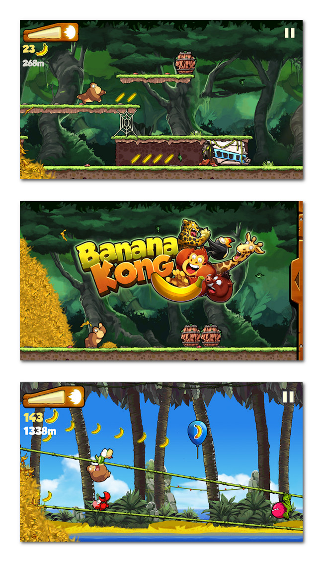 Banana Kong gameplay
