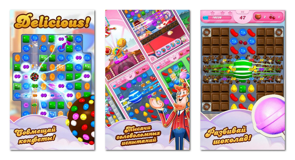 Candy Crush Saga gameplay